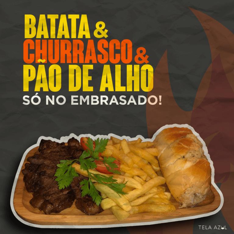 BATATA - EMBRASADO