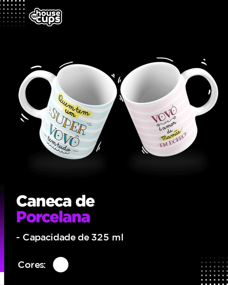 CATÁLOGO - CANECA BRANCA