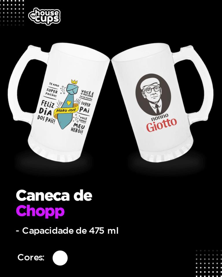 CATÁLOGO - CANECA DE CHOPP