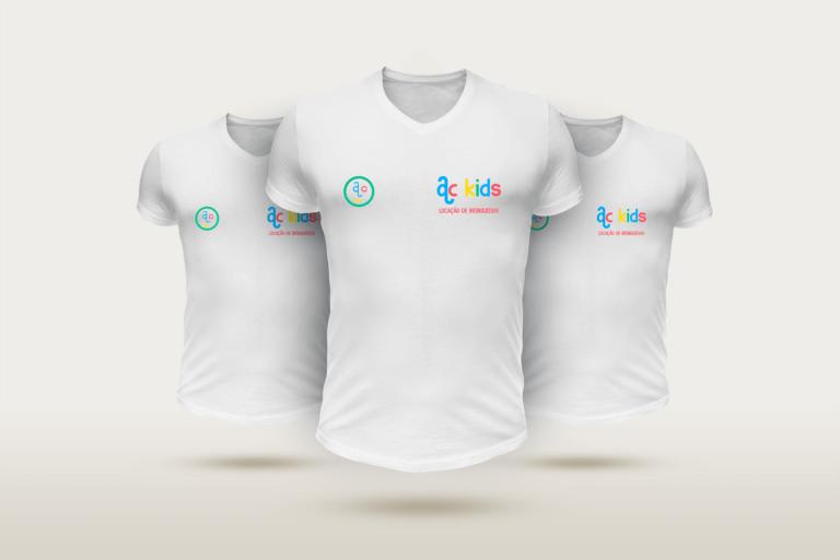 ac kids - camisas