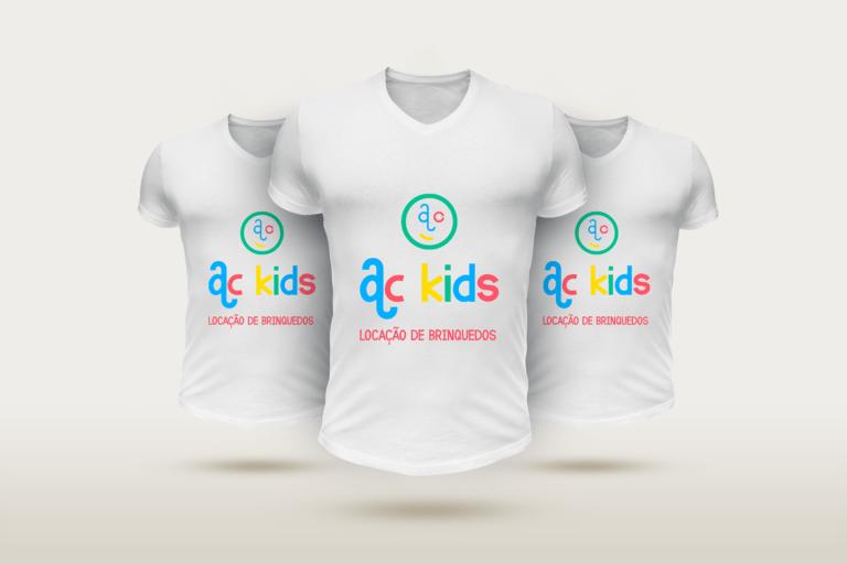 mockup de camisas - ackids